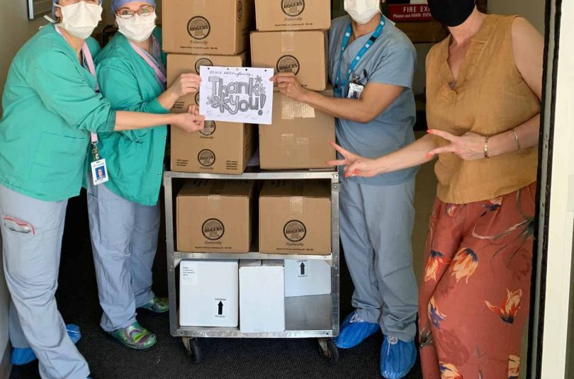 Rogers continues to serve communities affected by the Covid-19 pandemic through the Gratitude Box Program