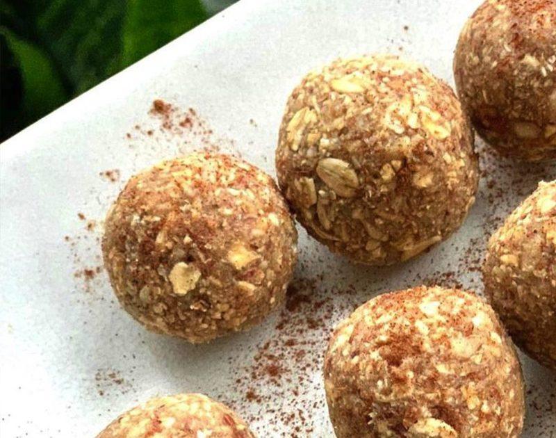 Cinnamon Tahini Balls