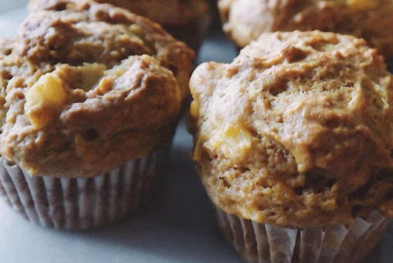 Pumpkin Pineapple Muffins